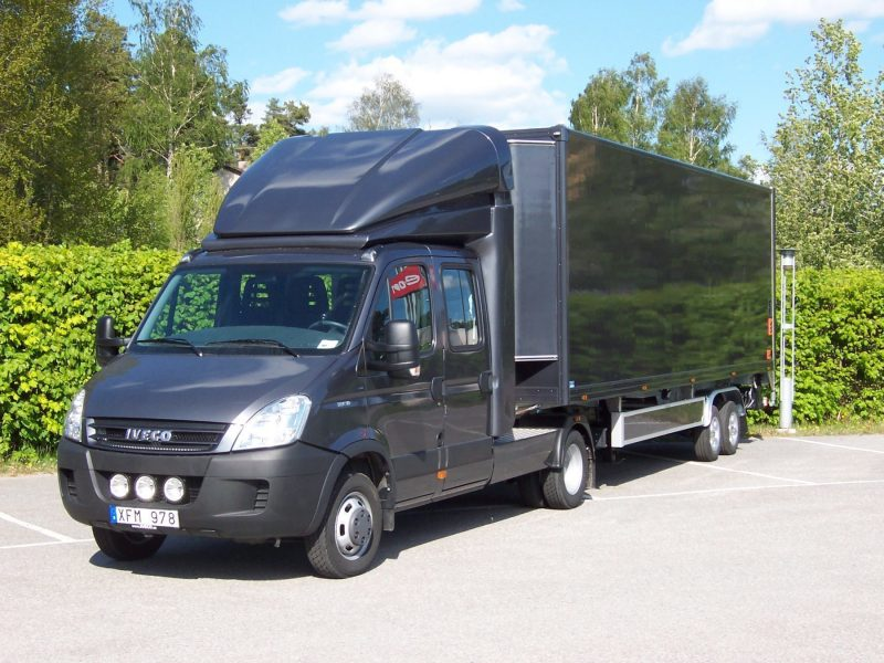 Iveco with Citytrailer