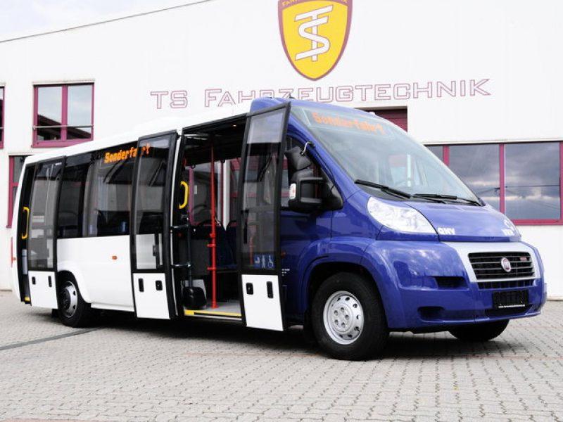 Flexibel lösning där du själv väljer själv hur lång, bred och hög din buss ska vara.