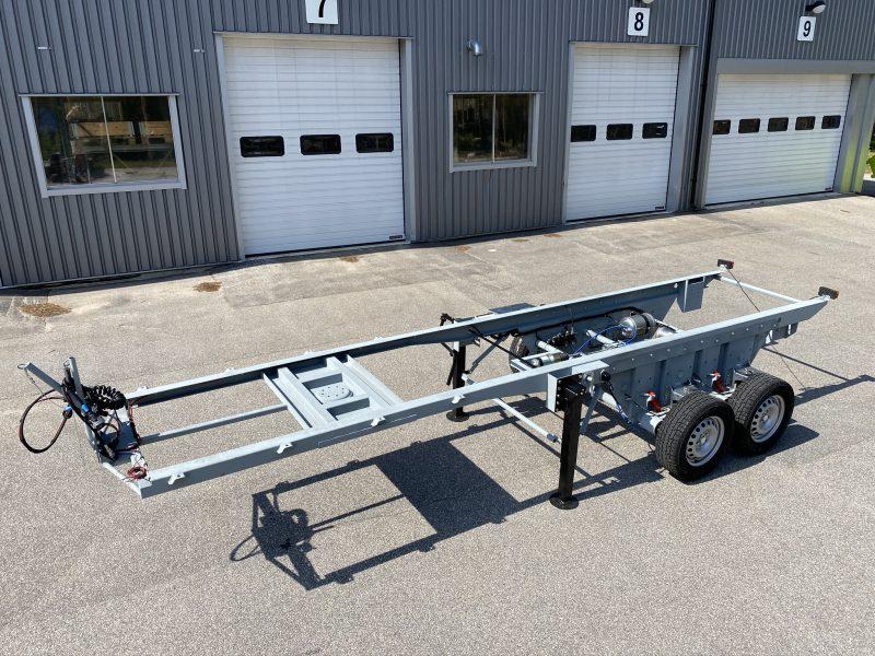 Citytrailer 60 - Air-sprung bogie chassis