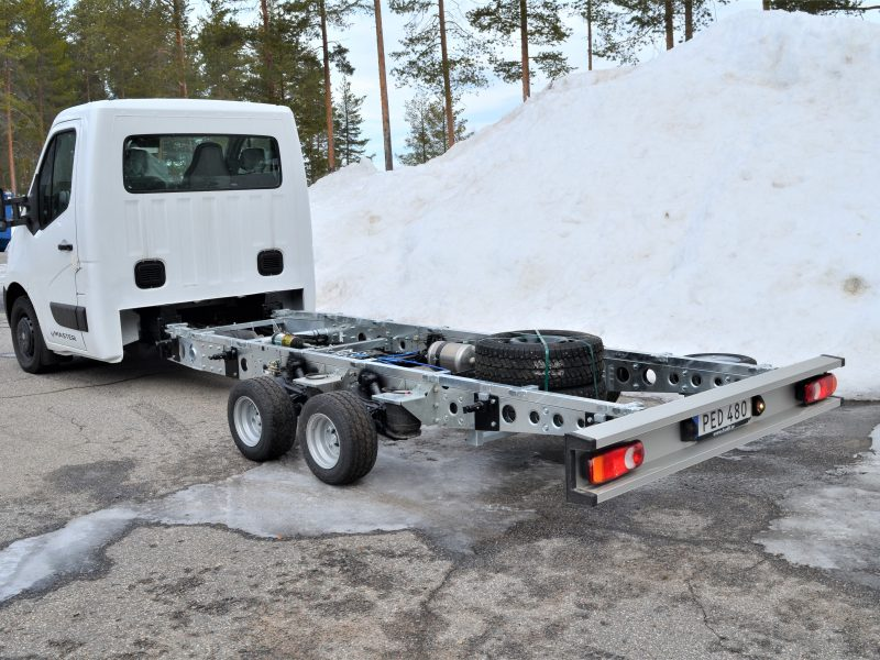 Renault master with Freno eurochassis