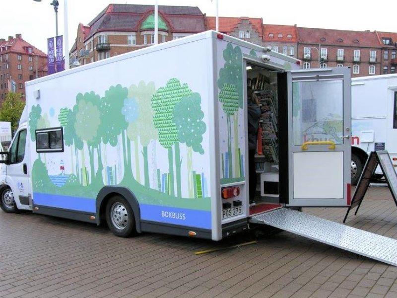 Freno Air - Bokbuss byggd på vårt Eurochassi av Fellwings