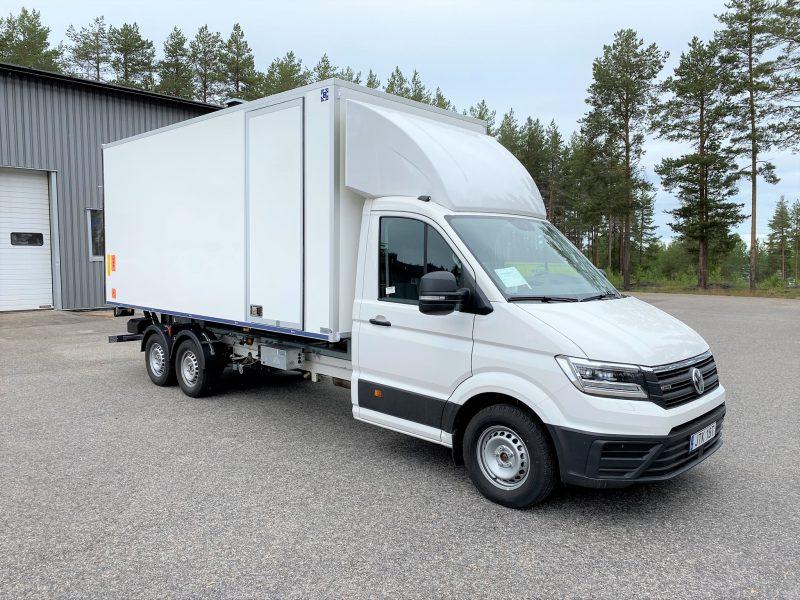 Freno DockOn, Dragbil Volkswagen Crafter 35, lastvikt 2400kg tågvikt 6000kg