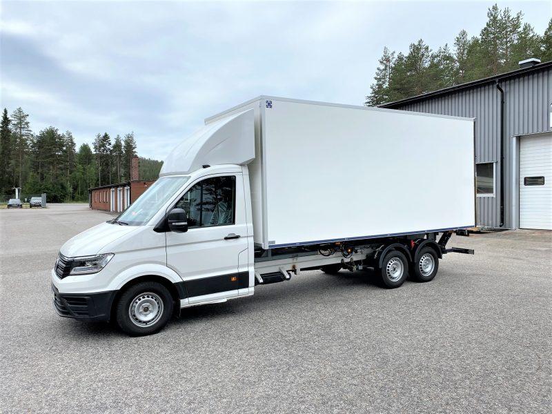 Volkswagen Crafter 35, Fyrhjulsdrift och automat med Freno DockOn chassilösning