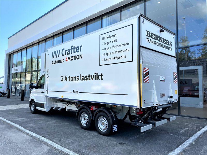 Volkswagen Crafter 4motion med Freno DockOn