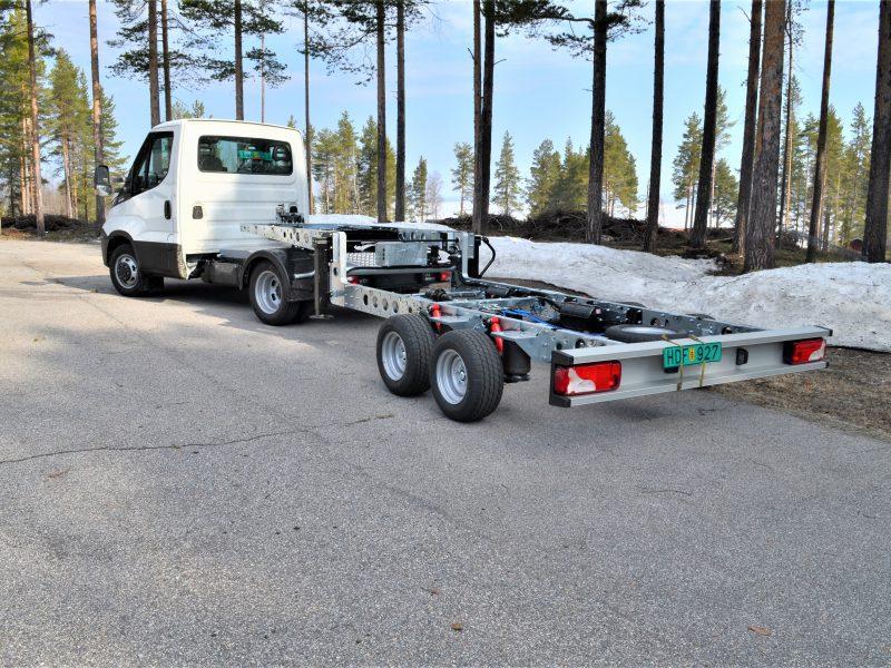 Freno Air - Iveco low-rise semi-trailer
