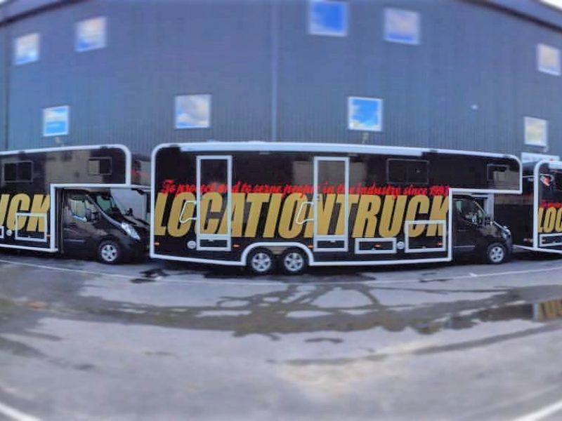 Location truck, Freno Air - Eurochassis built together with Orustvagnen
