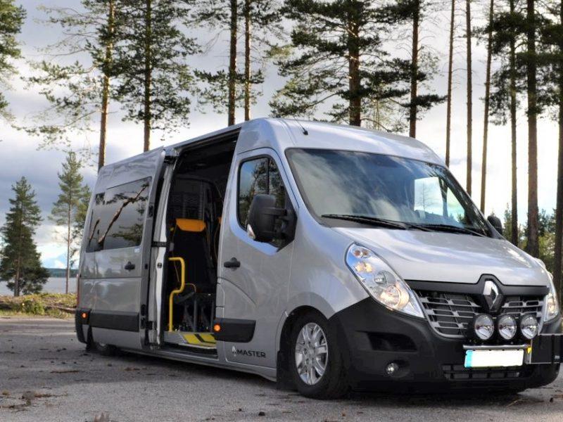 Renault Master med Freno AWK-system fram