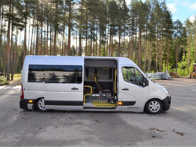 Renault Master med Freno AWK-system sidan