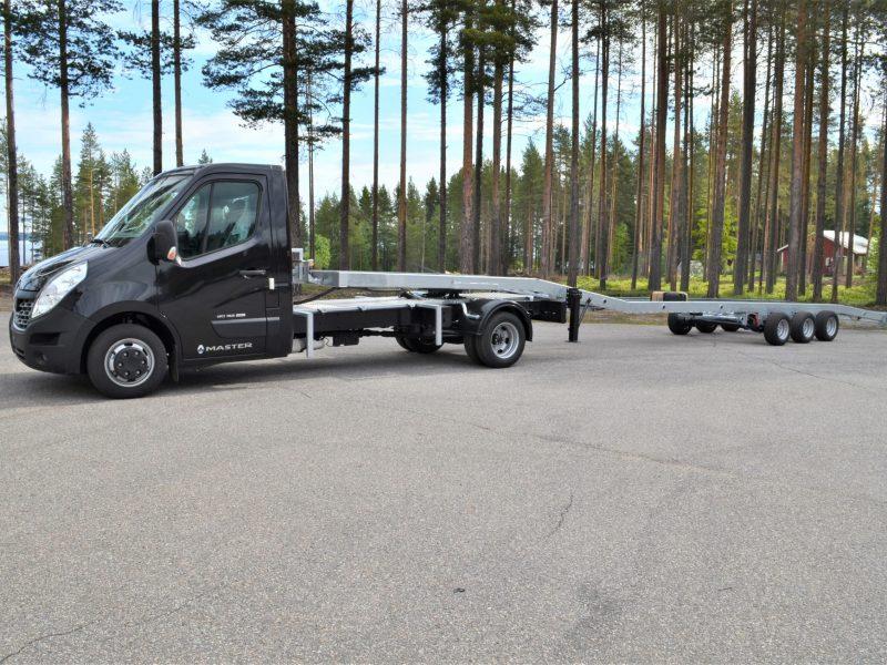 Biltransport trailer till Renault Master