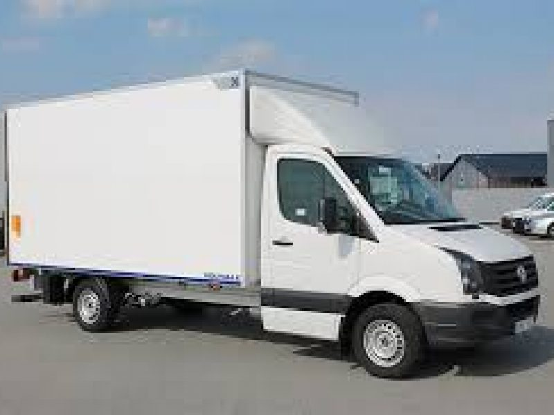 Can be raised and lowered to facilitate loading and unloading of passengers and goods.