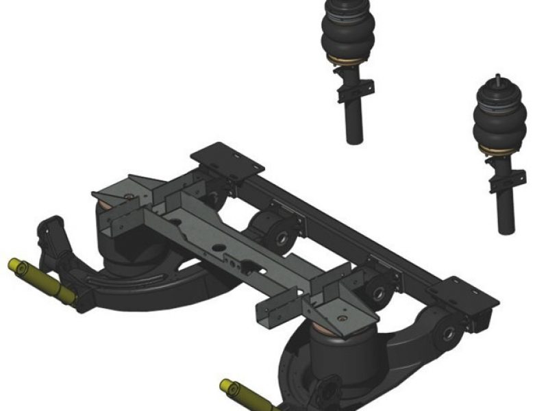 Individual rear suspension